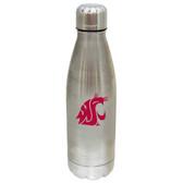 Washington State Cougars 17 oz Stainless Steel Water Bottle