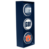 Auburn Tigers Color Lets Go Light