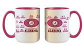 Alabama Crimson Tide 15oz Mom Mug