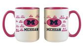 Michigan Wolverines 15oz Mom Mug
