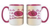Oklahoma Sooners 15oz Mom Mug