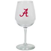 Alabama Crimson Tide 12.75oz Decal Wine Glass