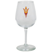 Arizona State Sun Devils 12.75oz Decal Wine Glass