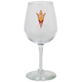 Arizona State Sun Devils 12.75oz Decal Wine Glass