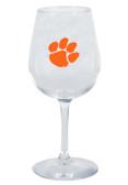 Clemson Tigers 12.75oz Decal Wine Glass