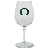Oregon Ducks 12.75oz Decal Wine Glass