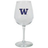 Washington Huskies 12.75oz Decal Wine Glass
