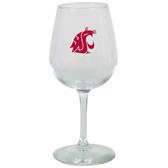 Washington State Cougars 12.75oz Decal Wine Glass