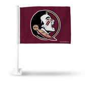 Florida State Seminoles  Car Flag Maroon