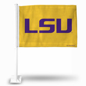 "LSU Tigers ""LSU Tigers LOGO"" Car Flag (YELLOW)"