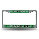 Marshall Thundering Herd Bling Chrome Frame