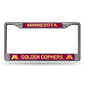 Minnesota Golden Gophers Bling Chrome Frame