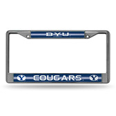 BYU Cougars Bling Chrome Frame