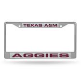 Texas A&M Aggies  LASER Chrome Frame