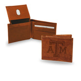 """Texas A&M """"AGGIES"""" Embossed Billfold"""