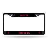 Houston Rockets BLACK Chrome Frame