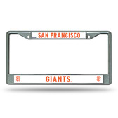 "San Francisco Giants ""SF LOGO"" Chrome Frame"