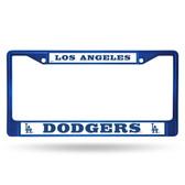 Los Angeles Dodgers BLUE COLORED Chrome Frame