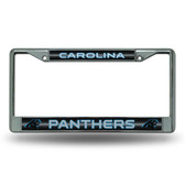 Carolina Panthers - CR Bling Chrome Frame