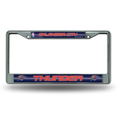 Oklahoma City Thunder Bling Chrome Frame