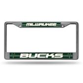 Milwaukee Bucks Bling Chrome Frame