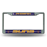 Phoenix Suns Bling Chrome Frame