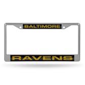Baltimore Ravens  LASER Chrome Frame