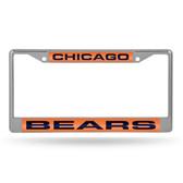 Chicago Bears  LASER Chrome Frame