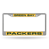 Green Bay Packers  LASER Chrome Frame