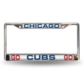 """Chicago Cubs """"GO Chicago Cubs GO"""" LASER FRAME"""