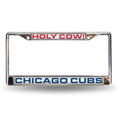 """Chicago Cubs """"HOLY COW"""" LASER FRAME"""