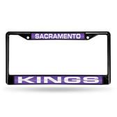 Sacramento Kings BLACK LASER Chrome Frame