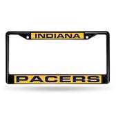 Indiana Pacers BLACK LASER Chrome Frame