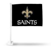 New Orleans Saints (BLACK) Car Flag