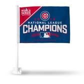 Chicago Cubs 2016 NATIONAL LEAGUE CHAMPION Car Flag
