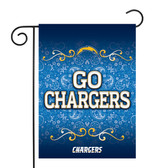 """Los Angeles Chargers Garden Flag13"""" X 18"""""""