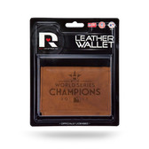 Houston Astros 2017 WORLD SERIES CHAMP Leather Trifold Wallet