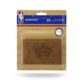 "Phoenix Suns ""PHX"" LOGO Leather Trifold Wallet"