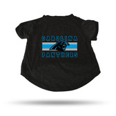 Carolina Panthers - CR BLACK PET T-SHIRT - SMALL