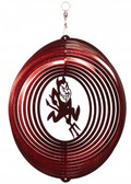 Arizona State Sun Devils Circle Swirly Metal Wind Spinner