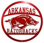 Arkansas Razorbacks 24 Inch Scenic Art Wall Design