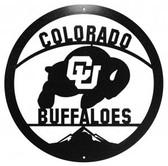 Colorado Buffaloes 24 Inch Scenic Art Wall Design