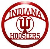 Indiana Hoosiers 24 Inch Scenic Art Wall Design
