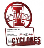 """Iowa State Cyclones """"I STATE"""" Business Card Holder"""