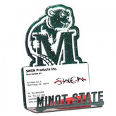 Minot State Beavers Business Card Holder