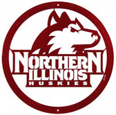 Northern Illinois Huskies  24 Inch Scenic Art Wall Design