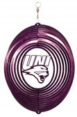 Northern Iowa Panthers Circle Swirly Metal Wind Spinner