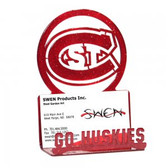 St. Could State Huskies Business Card Holder