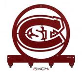 St. Could State Huskies Key Chain Holder Hanger