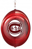 St. Could State Huskies Circle Swirly Metal Wind Spinner
